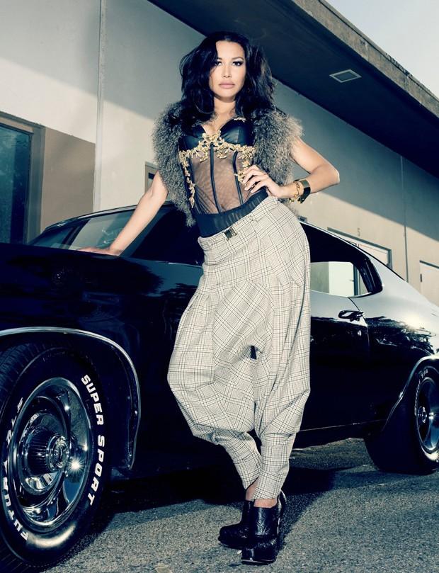 Naya Rivera (Foto: Reprodução/VVV Magazine)