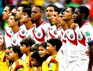 time Costa Rica jogo contra Holanda (Foto: Reuters)