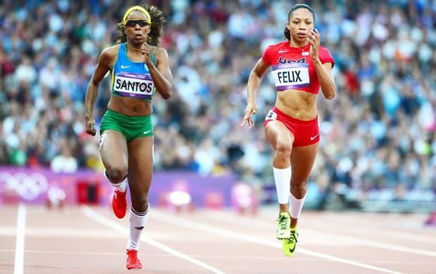 Rosangela Santos, atletismo Brasileiro (Foto: Agência AFP)