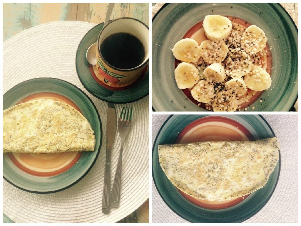 Café da manhã de Sandra Freitas (Foto: Arquivo Pessoal)