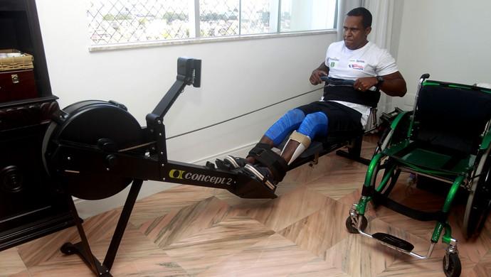 Renê Pereira; Para-remo; Paralimpíadas (Foto: Elói Corrêa/GOVBA)