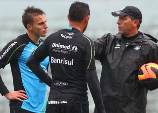 grêmio renato gaúcho werley bressan treino olímpico (Foto: Lucas Uebel/Grêmio FBPA)