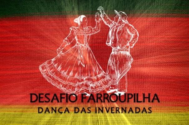 Desafio Farroupilha Dança das Invernadas (Foto: Reprodução/RBS TV)
