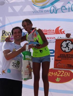 Corrida na Areia  (Foto: Viviane Leão/GLOBOESPORTE.COM)