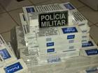 Homem é preso com 140 pacotes de cigarro escondidos em táxi no AC
