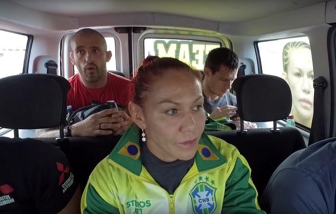 Cris Cyborg, George Lockhart, UFC Brasília, MMA