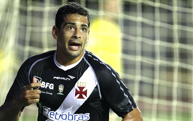 Diego Souza comemora gol do Vasco contra o Bahia (Foto: Marcelo Sadio / Site Oficial do Vasco da Gama)