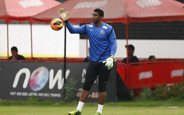 Aranha, goleiro do Santos (Foto: Ricardo Saibun/Divulgação Santos FC)
