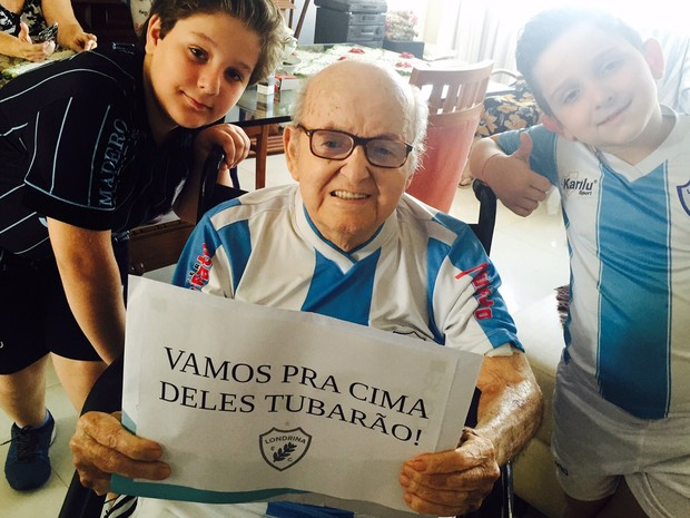 Carlos Antônio Franchello foi presidente do Londrina Esporte Clube por três vezes (Foto: Arquivo Pessoal)