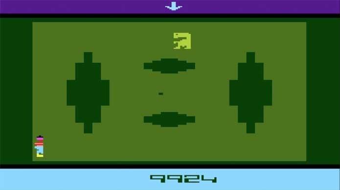 ET, um dos piores jogos do Atari (Foto: Reprodução/Atari Archives)