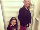 Tânia Mara e a filha Maysa mostram look do dia antes de ir ao Rock in Rio