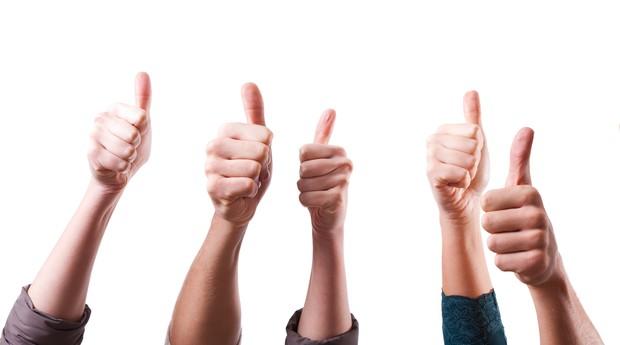 Equipe mais feliz (Foto: Shutterstock)