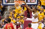 Hawks buscam fórmula contra LeBron em seu nível máximo (Getty Images)