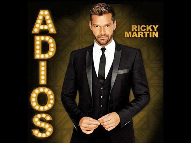 Capa do single 'Adiós', de Ricky Martin (Foto: Divulgação)