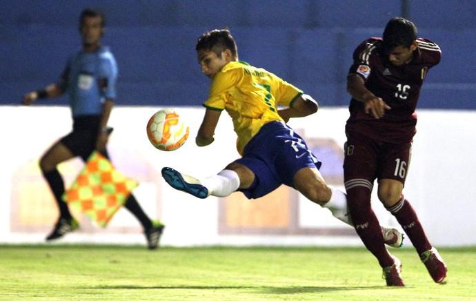 Andrey, Brasil X Venezuela Sub-17 (Foto: Agência EFE)