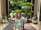 Marina Ruy Barbosa posa com look curto e recebe elogios: 'Maravilhosa'