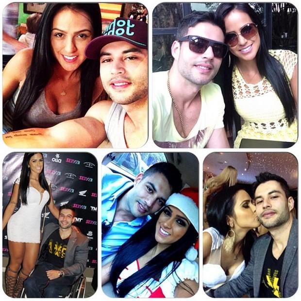 Dai Macedo posta fotos no Instagram com o namorado Rafael Magalhães (Foto: Reprodução/Instagram/Dai Macedo)