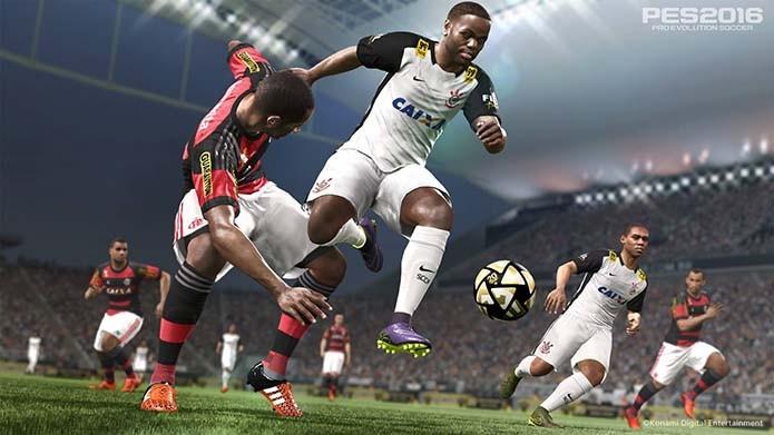 Pro Evolution Soccer 2016 receberá atualização e Maracanã no dia 3 de dezembro (Foto: Divulgação/Konami)
