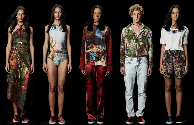 Nova coleção da The Paradise (Foto: Arte Vogue Online)
