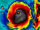 A assustadora imagem de satélite que mostra o potencial devastador do furacão Matthew