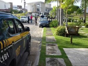 Objetivo da operação é combater fraudes em licitações (Foto: Divulgação / Polícia Rodoviária Federal )