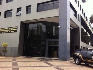 Operação Desventura é realizada em Goiás, no DF e mais 4 estados (Foto: Thaís Luquesi/TV Anhanguera)