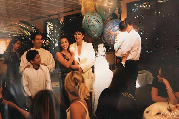 O aniversário de 16 anos de Kim Kardashian (Foto: Reprodução)