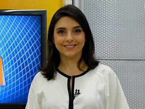 Ana Lidia é apresentadora do Rondônia TV (Foto: Angelina Ayres Medeiros/Rede Amazônica)