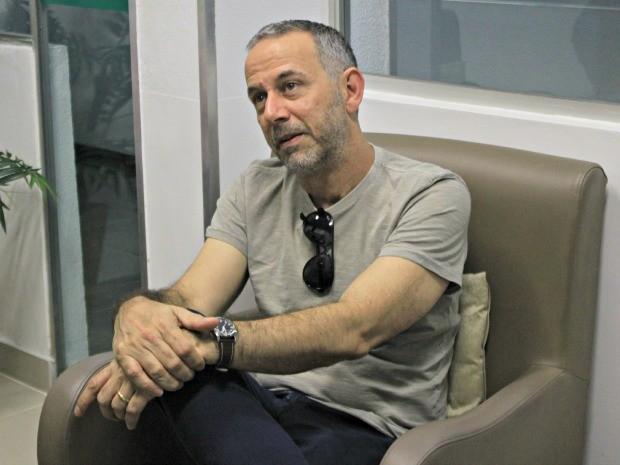 João Barone participa da 2ª Feira do Livro de Manaus (Foto: Adneison Severiano/G1 AM)