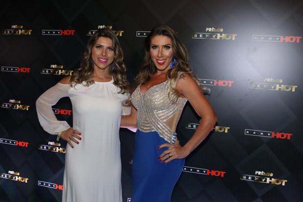 Ana Paula Minerato e Tati Minerato (Foto: Thiago Duran/AgNews )