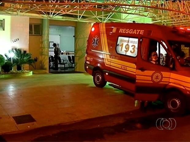 Policial militar baleado em Gurupi continua internado, mas passa bem  (Foto: Reprodução/TV Anhanguera)
