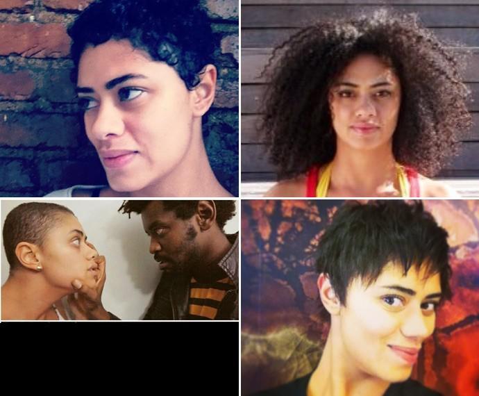 Ana Flávia já desfilou por aí com diversos estilos de cabelo! (Foto: Arquivo Pessoal)