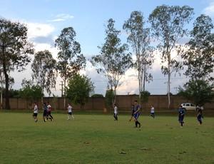 Genus Sub-16 em preparação para o campeonato (Foto: Michele Carvalho)