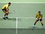 Marcelo Melo perde match point, sofre virada e cai nas quartas em Roterdã