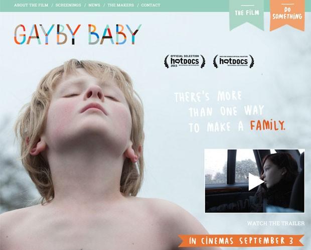 """""""Gaybe Baby"""" mostra a vida de quatro crianças que crescem junto a pais do mesmo sexo (Foto: Reprodução)"""