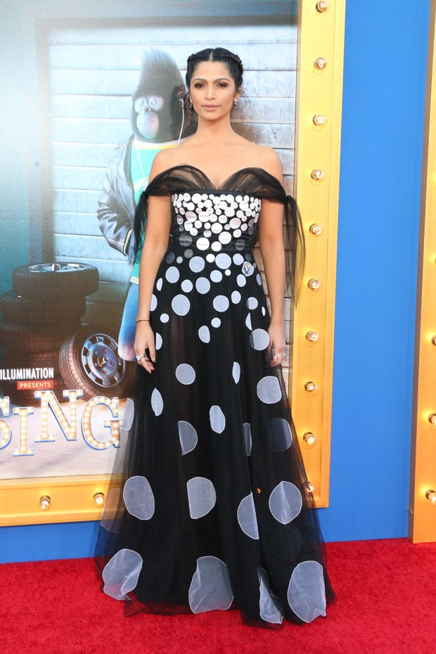 Camila Alves em première de filme em Los Angeles, nos Estados Unidos (Foto: Frederick M. Brown/ Getty Images/ AFP)