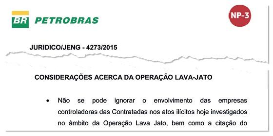 Considerações acerca da operação Lava-Jato (Foto: Reprodução)
