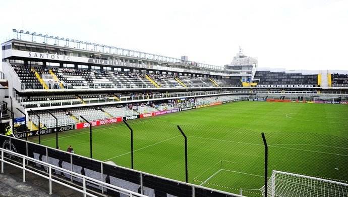 Santos x Palmeiras Vila Belmiro (Foto: Marcos Ribolli)