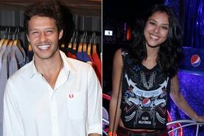 Nando Rodrigues e Yanna Lavigne (Foto: AgNews)