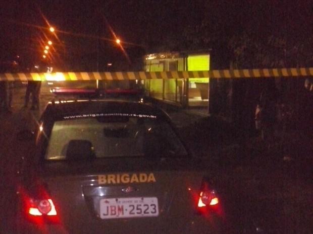Grupo abriu fogo em bar de São Leopoldo, no RS (Foto: Divulgação/BM)