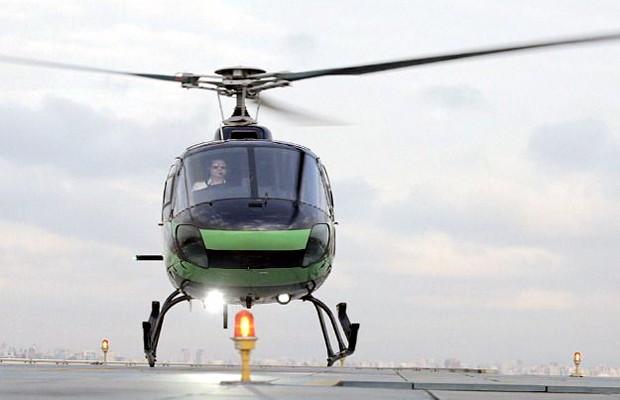 Helicóptero do UberCOPTER (Foto: Divulgação)