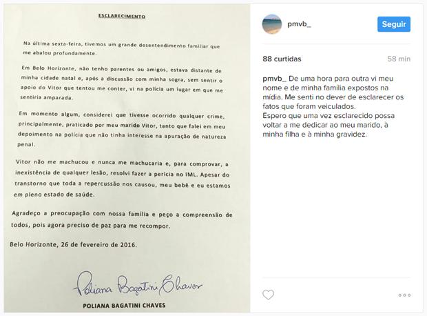 Poliana Bagatini (Foto: reprodução/instagram)