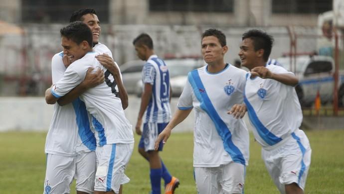 Sub-20 do Paysandu quer comemorar mais uma vitória na Copa Norte (Foto: Fábio Costa)