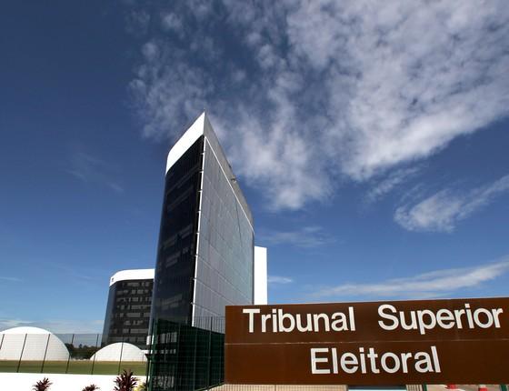 Fachada do Tribunal Superior Eleitoral em Brasília (Foto: Roberto Jayme/ASICS/TSE)