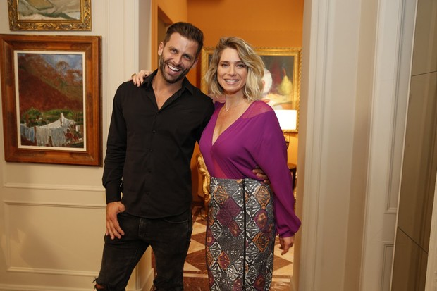 Leticia Spiller e Henri Castelli (Foto: Felipe Panfili/Marcello Sá Barretto e Alex Palarea/AgNews )