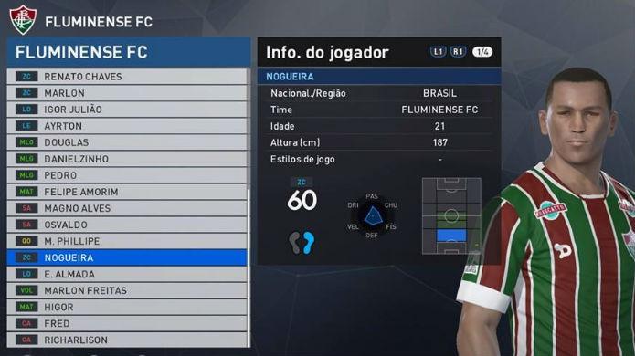 PES 2017: Nogueira é um dos piores jogadores do Brasileirão (Foto: Reprodução/Thomas Schulze)