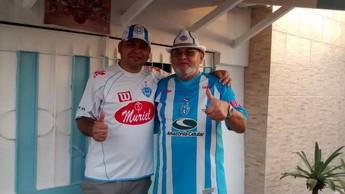 Família Brandão se lembra do tempo em que o Paysandu frequentava a série A (Foto: Samara Miranda / Globoesporte.com)