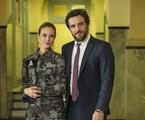Rodrigo Lombardi e Paolla Oliveira em 'A força do querer'   Reprodução