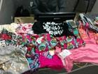 Mulheres furtam roupas de duas lojas e são presas em flagrante em MT