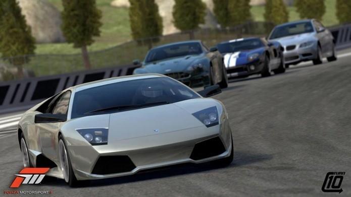 Forza 3 chegou antes e melhor que o rival Gran Turismo 5 (Foto: Divulgação)